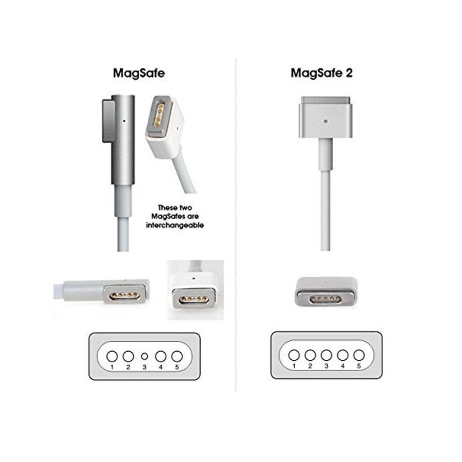 60W MagSafe L型 充電器 Mac 互換電源アダプタ L字コネクタ 16.5V-3.65A Macbook A1278 / A1344/ A1181/ A1184/ A1342/ A1330|heiman|05