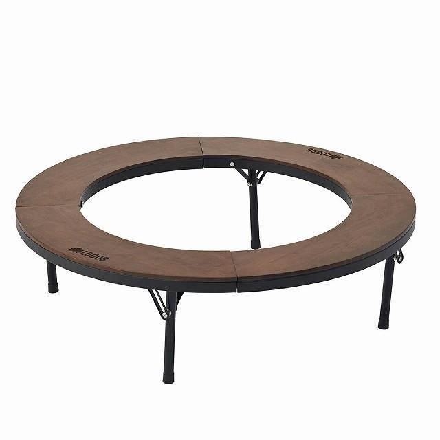 LOGOS アイアンウッド囲炉裏サークルテーブル L