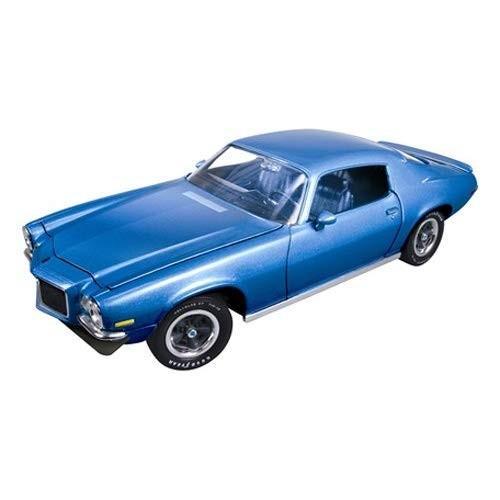 American Muscle 1/18 シボレー カマロ SS350 1971 ブルー 完成品