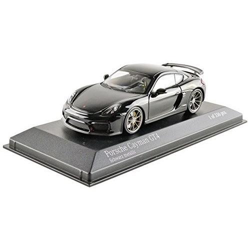 ミニチャンプス 1/43 ポルシェ ケイマン GT4 2016 ブラックメタリック