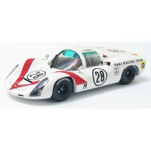 エブロ 1/43 43638 ポルシェ910 1968 日本GP #28 ホワイト 完成品