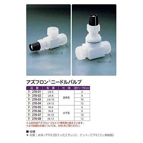 水平型ニードルバルブ IN-6/7-278-05