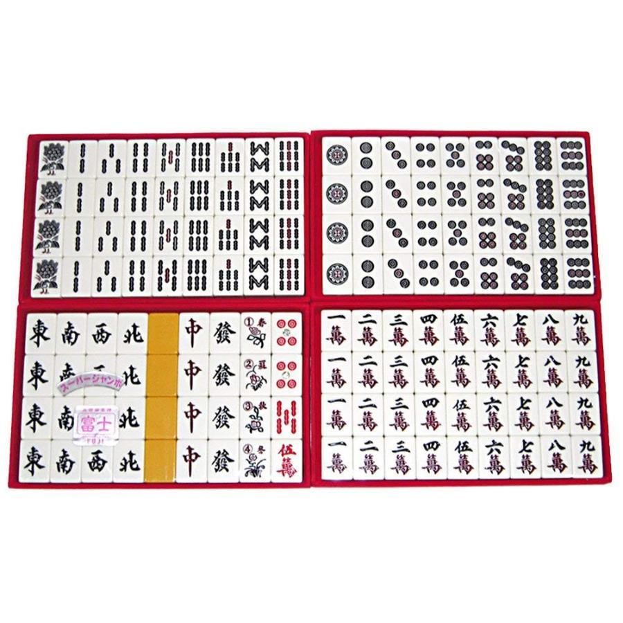 高級麻雀牌 富士 3L スーパージャンボサイズ牌