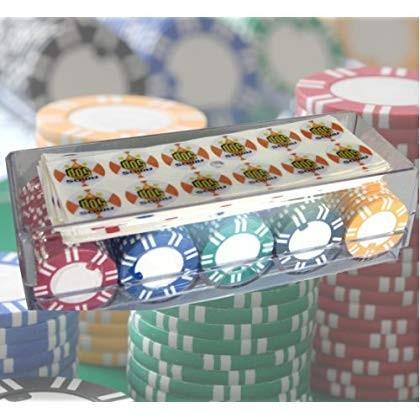 ポーカーチップ アモス麻雀チップ(シール付)100枚セット