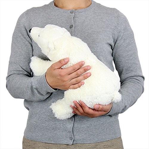 カロラータ ホッキョクグマ ( シロクマ ) ぬいぐるみ (検針2度済み) 動物 リアルアニマルファミリーシリーズ 親 やさしい手触り お人