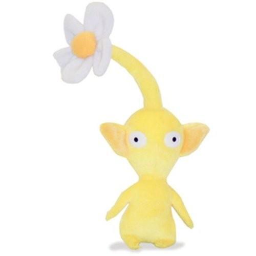 黄 ピクミン 花 ぬいぐるみ 高さ14cm