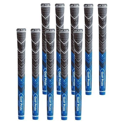 GOLFPRIDE(ゴルフプライド) ゴルフグリップ マルチコンパウンド MCC・プラス4・ブルー バックライン無 10本セット MCCS-