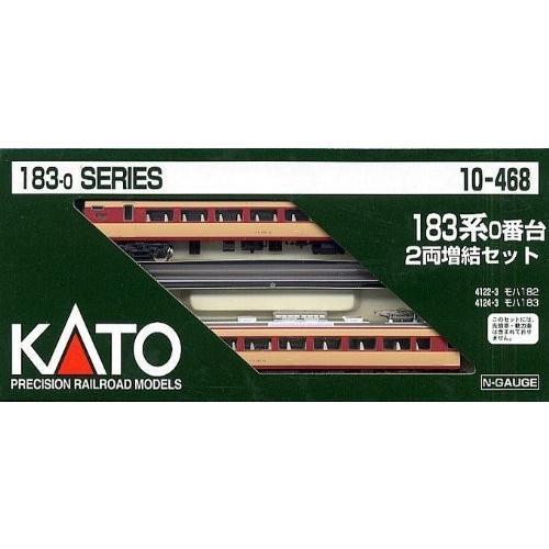 KATO Nゲージ 183系 0番台 増結 2両セット 10-468 鉄道模型 電車