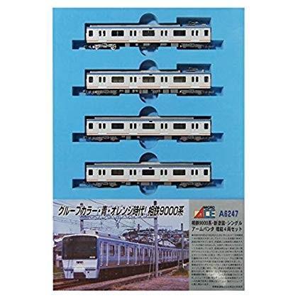 マイクロエース Nゲージ 相鉄9000系 新塗装 シングルアームパンタ 増結4両セット A6247 鉄道模型 電車