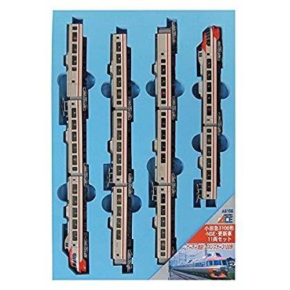 マイクロエース Nゲージ 小田急3100形・NSE・更新車 11両セット A8156 鉄道模型 電車