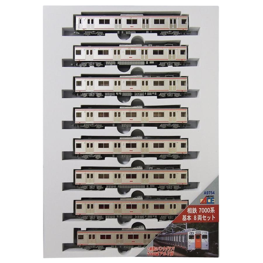 マイクロエース Nゲージ 相鉄7000系 基本8両セット A9754 鉄道模型 電車