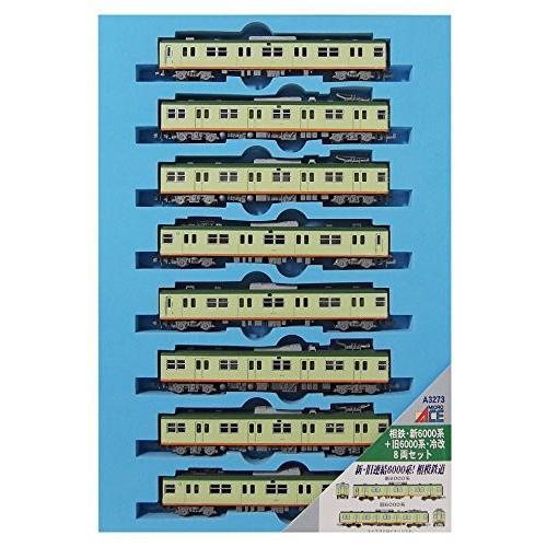 マイクロエース Nゲージ 相鉄・新6000系+旧6000系・冷改 8両セット A3273 鉄道模型 電車