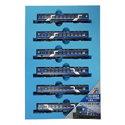 マイクロエース Nゲージ 12系 お座敷客車「なごやか」 斜め帯塗装 6両セット A1851 鉄道模型 客車