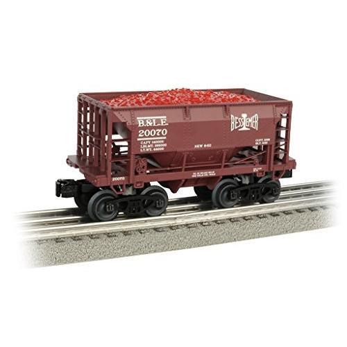 Bachmann 70-ton Ore car-bessemer & Lake Erie Railroad Oスケール、Prototypic