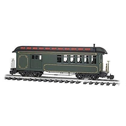 Train Passenger Car ジャクソンシャープ 乗客 車 コンバイン 塗装 無文字 オリーブ ゴールド裏地 ラージスケール