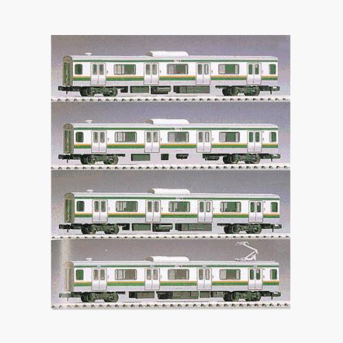 Nゲージ車両 E231系東北線増結4両セット 92256