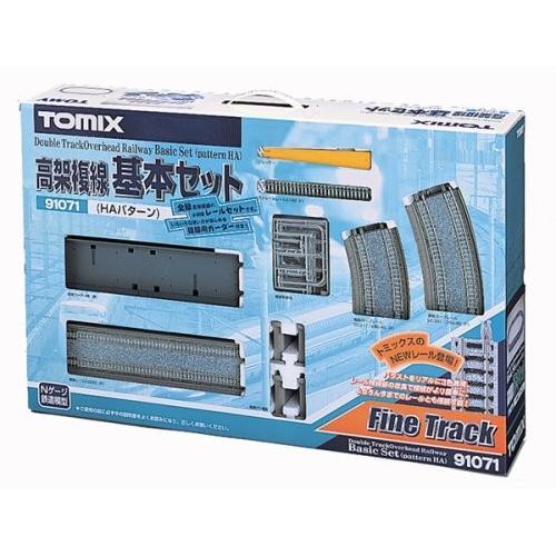 TOMIX Nゲージ 91071 高架複線基本セット (HAパターン)