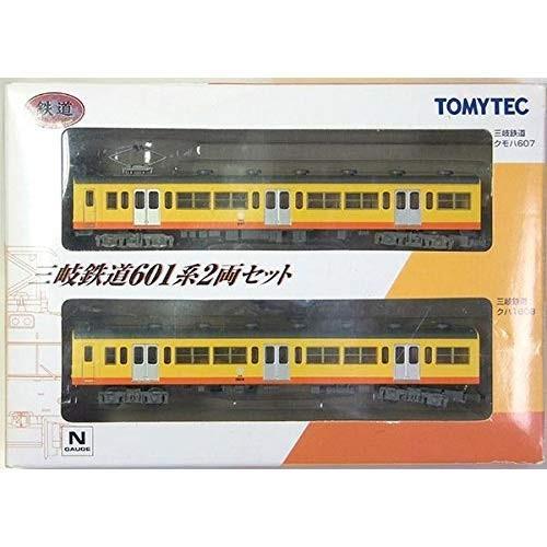 トミーテック 1/150 三岐鉄道 601系 2両セット 電車 ストラクチャー