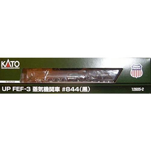 KATO 12605-2 UP FEF-3 蒸気機関車844黒