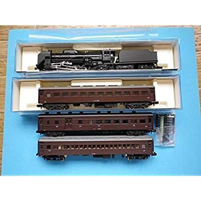 KATO 10-830 SL列車セット 彡 セット内容変更:レトロ客車3両を 5135-1 オハ47 茶 & MA オハニ36 & MODE
