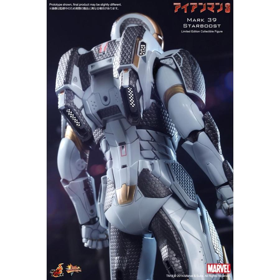 ムービー・マスターピース アイアンマン3 アイアンマン・マーク39(スターブースト) 1/6スケール プラスチック製 塗装済み可動フィギュア