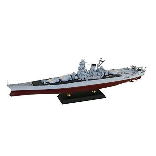 ピットロード 1/700 スカイウェーブシリーズ 日本海軍 戦艦 武蔵 レイテ沖海戦時 旗・艦名プレート エッチングパーツ付き プラモデル