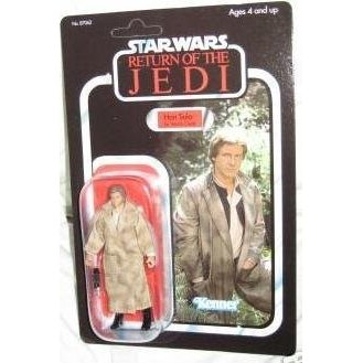 Star Wars Classics Vintage Style Figure Retro Carded Han Solo in Endor