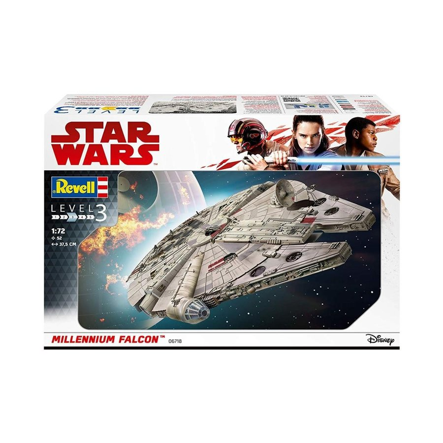 Revell GmbH 06718 Star Wars Han Solo Millennium Falcon Model Kit, 1