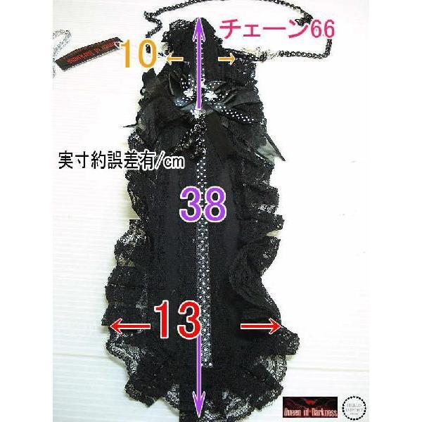 ゴスロリ ネクタイ ゴシック ロリータ ロリィタ 薔薇 黒 / wox096|hello-import|04