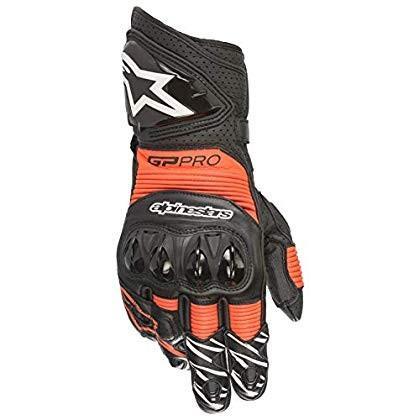 alpinestars(アルパインスターズ)バイクグローブ ブラック/レッドフロー (サイズ:XL) GP PRO R3グローブ(355 6