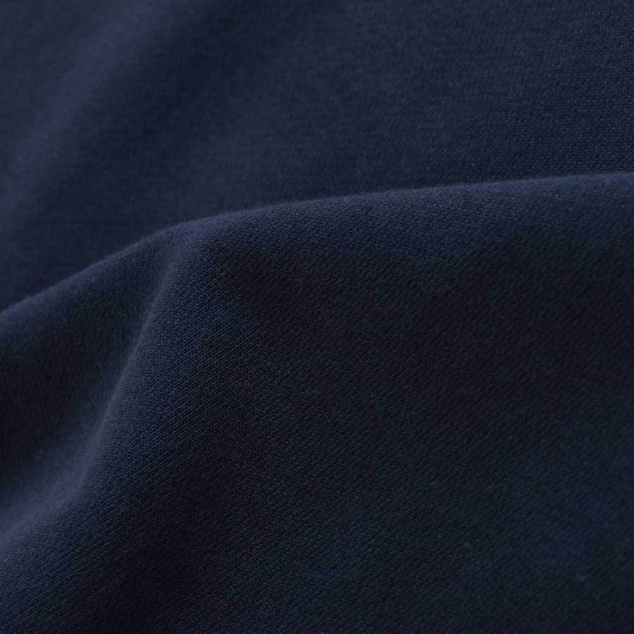 抗菌消臭 USA COTTON 裏毛 フロント 刺繍 トレーナー【Henry Cotton's(ヘンリーコットンズ)】 シンプル カジュアル 新作 アイボリー グレー ワインレッド ブルー|henry-cottons|10