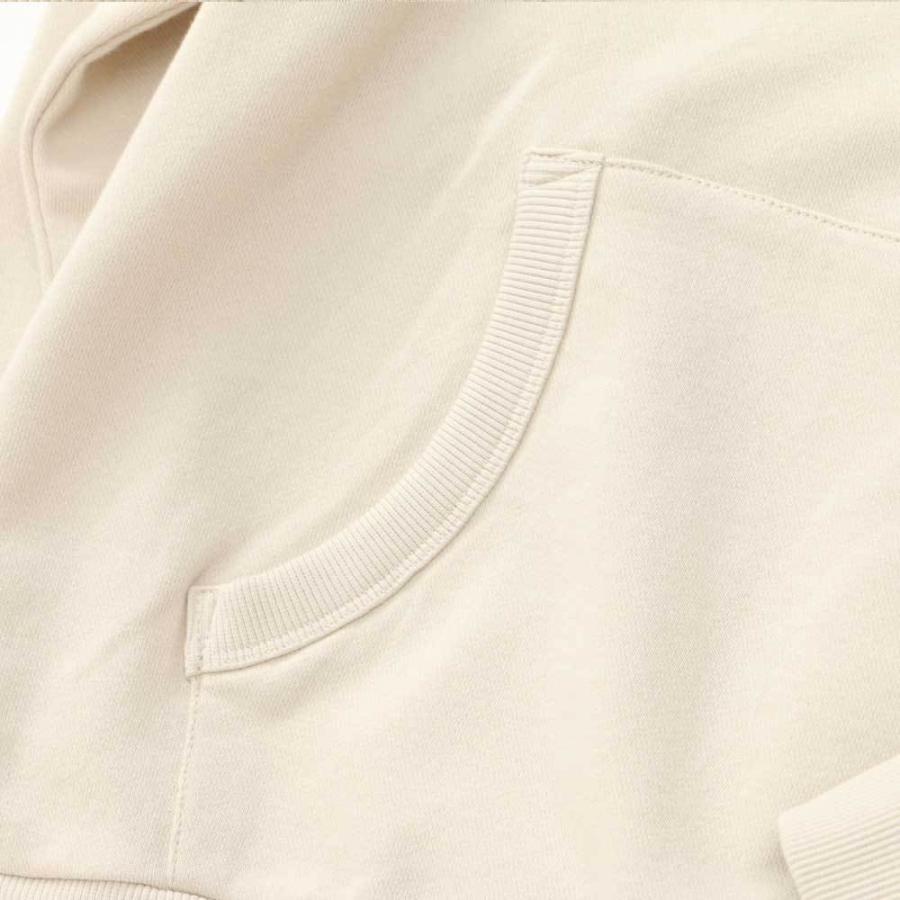 【30%OFF】抗菌消臭 USA COTTON 裏毛 プルパーカー【Henry Cotton's(ヘンリーコットンズ)】 シンプル カジュアル 30代 40代 50代 新作 オレンジ ベージュ カーキ|henry-cottons|06