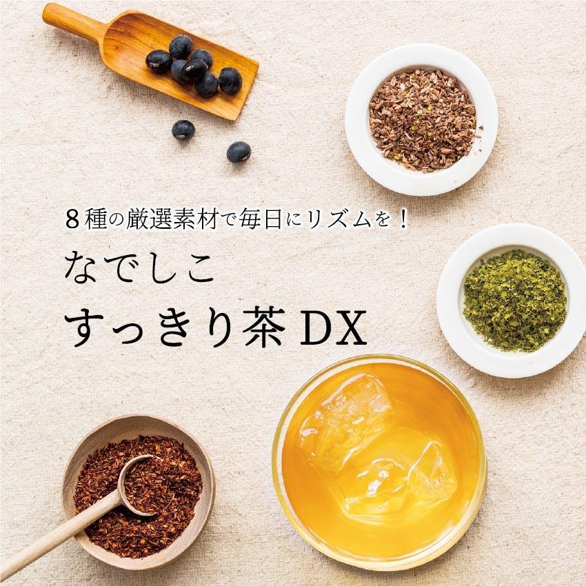 【12時まで当日出荷!】なでしこ すっきり茶DX 1パック 500円OFF  無添加ハーブティーで毎朝すっきり! ノンカフェイン 日本製 送料無料 herb-labo 02