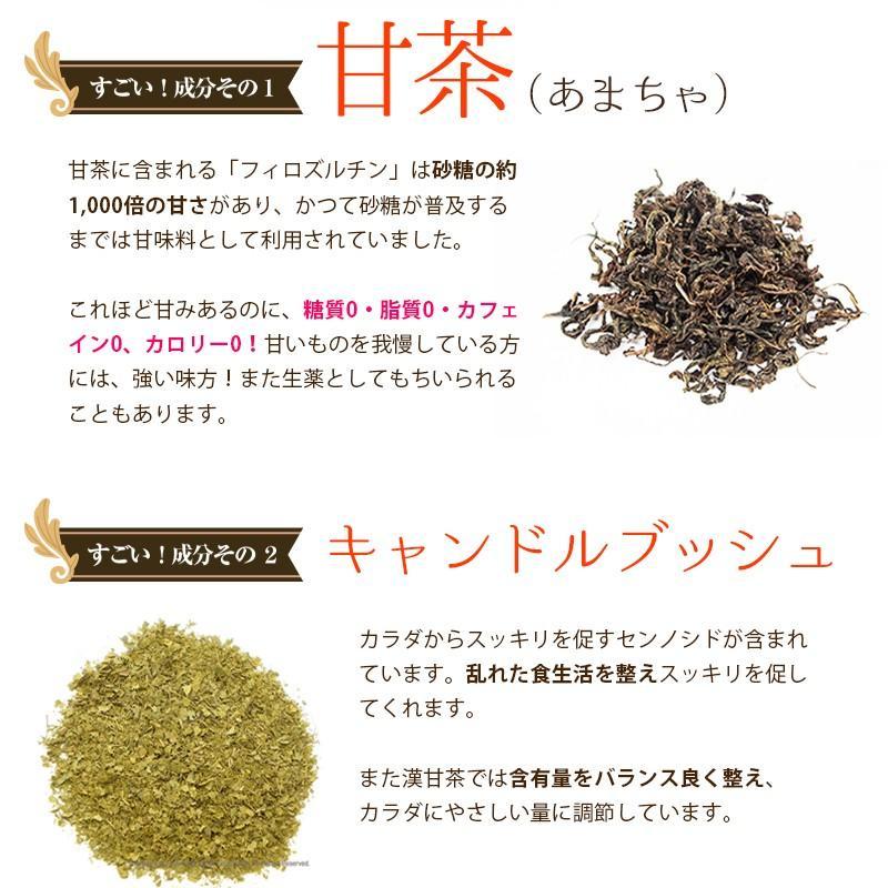 漢甘茶 ダイエットティー 30包 漢方生薬研究所  カロリー0 糖質0 脂質0 ノンカフェイン 甘茶 食事制限 節食 減食 herbal-i 14