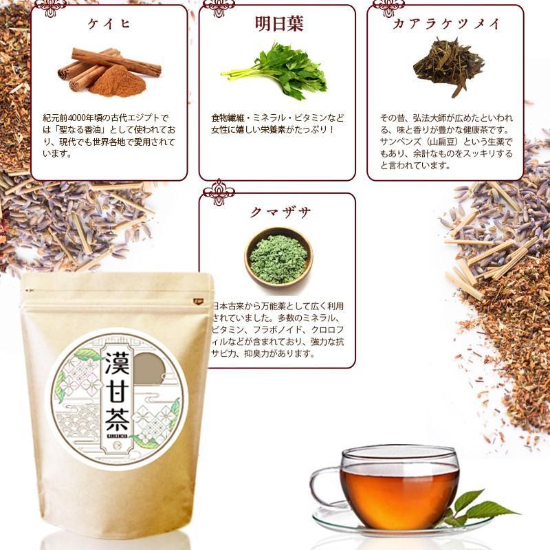 漢甘茶 ダイエットティー 30包 漢方生薬研究所  カロリー0 糖質0 脂質0 ノンカフェイン 甘茶 食事制限 節食 減食 herbal-i 16