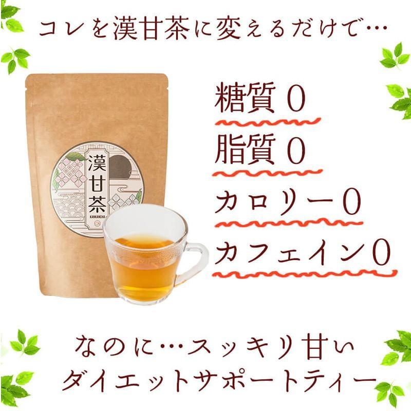 漢甘茶 ダイエットティー 30包 漢方生薬研究所  カロリー0 糖質0 脂質0 ノンカフェイン 甘茶 食事制限 節食 減食 herbal-i 09