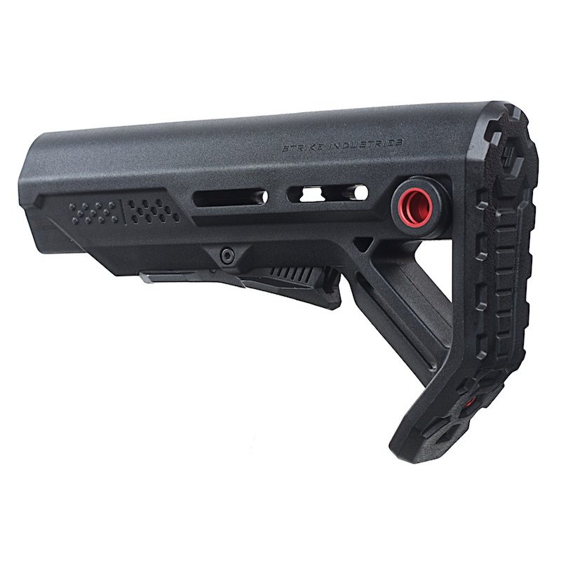 Madbull Strike Industries Viper Mod1 ミルスペックカービンストック BK/赤
