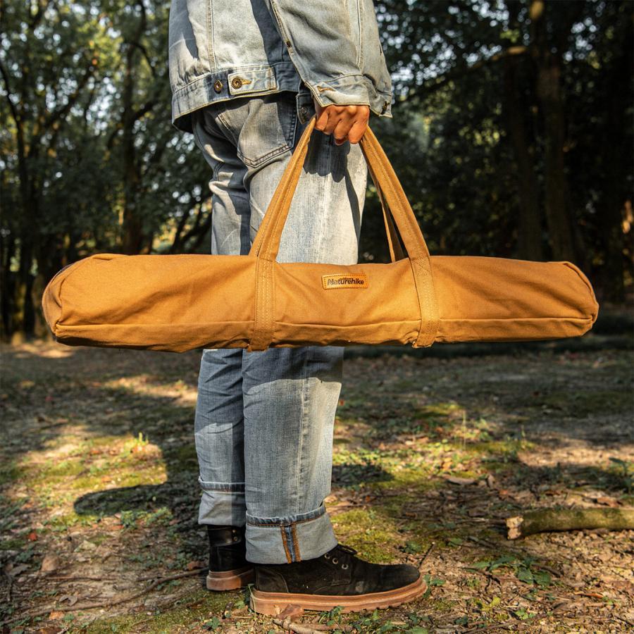 Naturehike ポールケース Mサイズ タープポール 収納バッグ アウトドア 用品 キャンプ 帆布 hermanherman 04