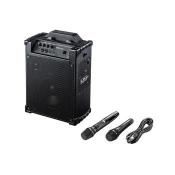 ワイヤレスマイク付き拡声器スピーカー MM-SPAMP10  キャンセル返品不可 他の商品と同梱·同時購入不可