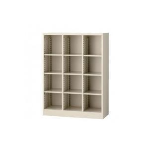SEIKO FAMILY(生興) スタンダード書庫 3列4段オープン書庫 SBK-12    キャンセル返品不可 他の商品と同梱・同時購入不可