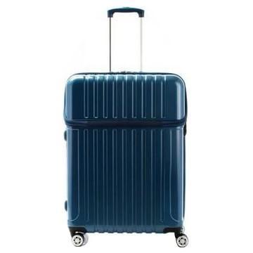 協和 ACTUS(アクタス) スーツケース トップオープン トップス Lサイズ ACT-004 ブルーカーボン・74-20332 キャンセル返品不可 他の商品と同梱・同時購入不可