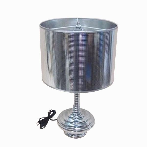 かわ畑 シックなモダンテイスト テーブルランプ シルバー 1009USC005    キャンセル返品不可 他の商品と同梱・同時購入不可