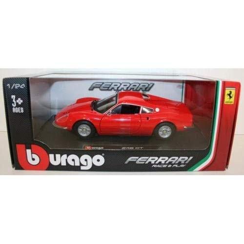 Bburago レース & プレイシリーズ 1/24 DINO 246 GT レッド 完成品