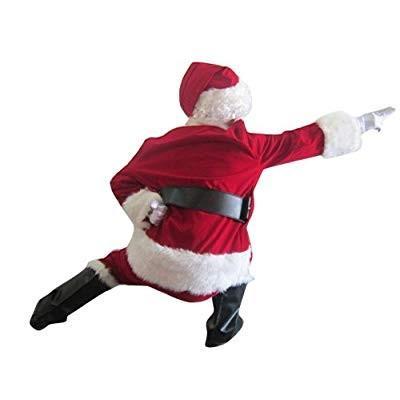(リリ ベル)Lily Belleクリスマス コスチューム コスプレ衣装 変装 仮装 サンタクロース 大人用 ファー 9点セット 帽子 ウィ