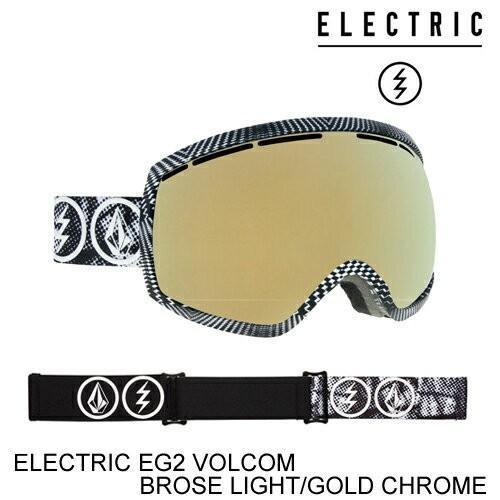 2019人気の ELECTRIC エレクトリックゴーグル ジャパンフィット ジャパンフィット EG2 ELECTRIC VOLCOM CHROME CO-LAB BROSE LIGHT/GOLD CHROME スノーボード ゴーグル, エンデュランス:f791f23c --- airmodconsu.dominiotemporario.com