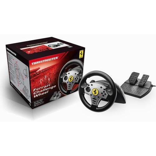 Thrustmaster Ferrari Challenge Wheel for PS3 and PC - フェラーリ チャレンジ ホイール (PS3 PC 海外周辺機器)