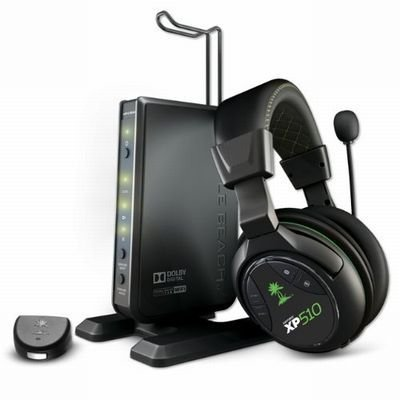 Turtle Beach Ear Force XP510 Premium Wireless Dolby Digital Gaming Headset - イアー フォース XP510 ヘッドセット (PS3 Xbox360 海外輸入北米版周辺機器)