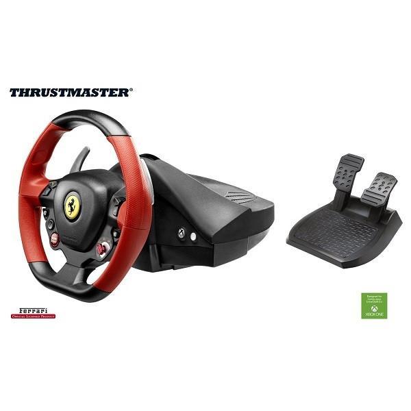 【取り寄せ】 Thrustmaster VG Ferrari 458 Spider Racing Wheel (Xbox One 海外輸入北米版周辺機器)