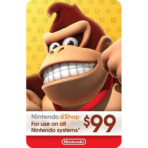 【コードメール発送】Nintendo eShop Card $99 - ニンテンドー eショップ プリペイドカード $99 (北米版プリペイドカード)