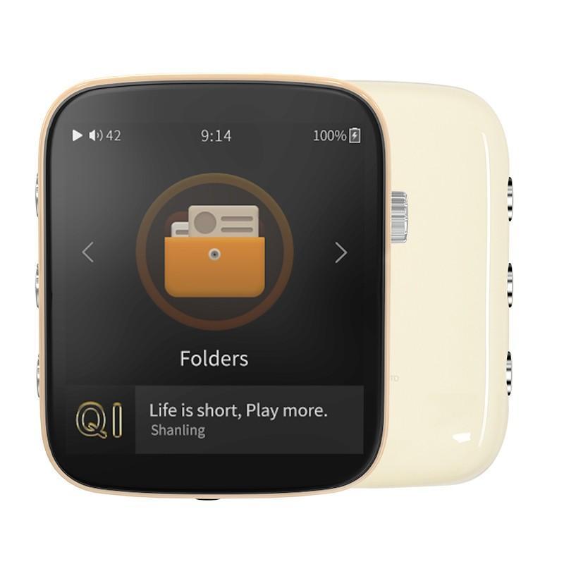 Shanling Q1 シャンリン オーディオ プレーヤー Bluetooth レシーバー 3.5mm LDAC aptX MP3 ミュージック 音楽 小型 レトロ デザイン ポケット サイズ【全4色】|heylisten|10